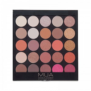 MUA Eyeshadow Palette 25 Shade - Burning Embers