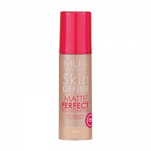 MUA Skin Define Matte Perfect - Beige