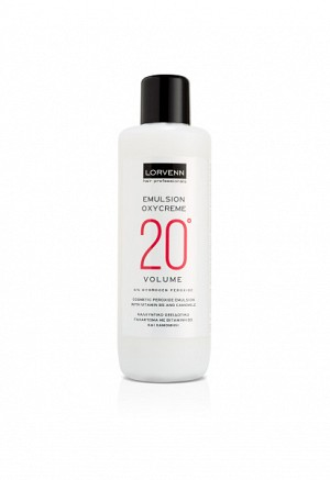 PERMANENT HAIR COLOR OXYCREME EMULSION 20╟VOL 1000ml