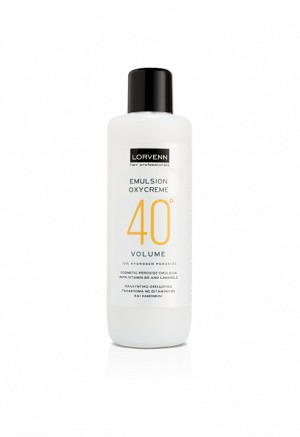 PERMANENT HAIR COLOR OXYCREME EMULSION 40╟VOL 1000ml