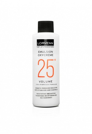 PERMANENT HAIR COLOR OXYCREME EMULSION 25╟VOL 70ml