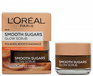 L'Oreal Smooth Sugars Glow Scrub 50ml