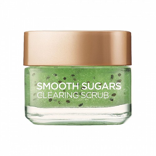 L'Oreal Smooth Sugar Clear Scrub 50ml