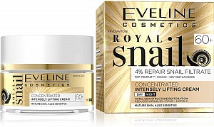 Eveline Royal Snail Concentrated Cream Actively Smoothing 60+ Day&Night 50ml