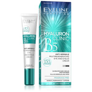 Eveline Hyaluron Hyaluronic Filler Eye Shaping Gel 3in1 15ml