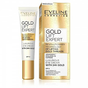 Eveline 24k Gold Lift Expert Eye Cream 15ml